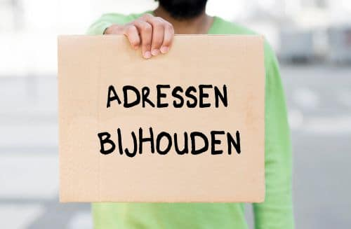 daklozenuitkering aanvragen en je adressen bijhouden