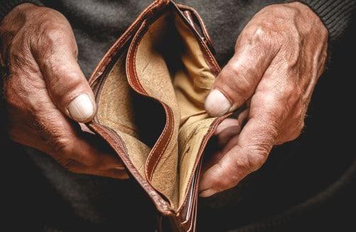 ik heb geen geld om eten te kopen