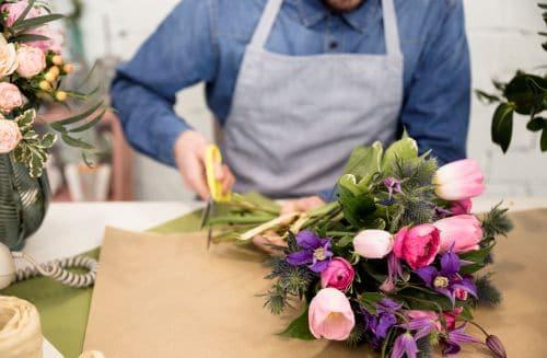 werk gevonden als bloemist