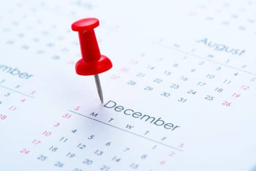 kalender - hoe lang duurt de aanvraag