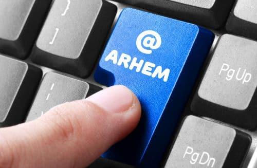 mail naar sociale dienst Arnhem