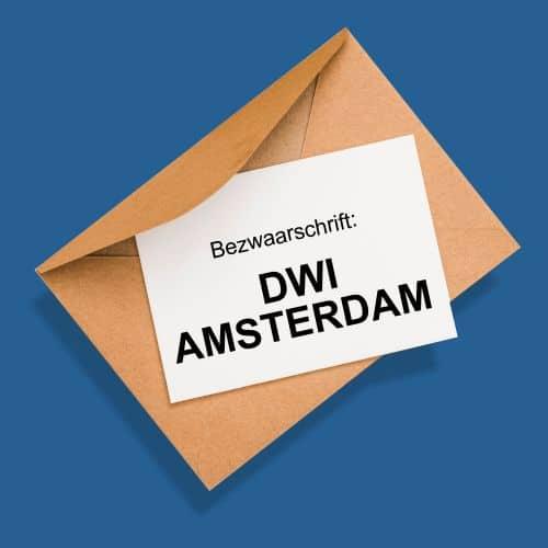 ontvang waar je recht op hebt van DWI Amsterdam