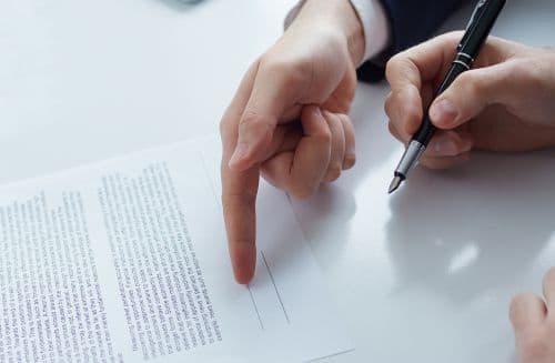 sociale recherche je handtekening zetten en intrekken